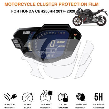 Motorcycle Cluster Scratch Protection Film Screen Protector For Honda CBR250RR CBR 250 RR 2017- 2020 image