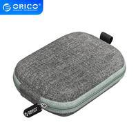 ORICO, funda externa SSD, bolsa de protección PSSD para unidad portátil de estado sólido/auricular/disco U/Cable de datos/caja portátil de disco duro