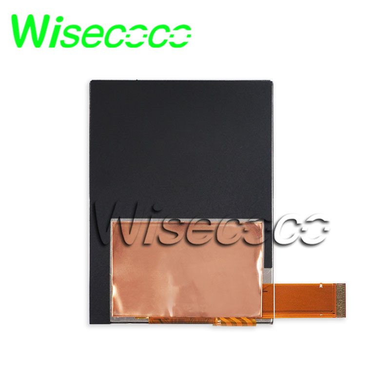 wisecoco S035TV04ES-DR19 <font><b>lcd</b></font> Display With 4 wire resistive touch panel 3.5 inch 480*640 <font><b>screen</b></font> 650nits <font><b>39pins</b></font> TTL HX8363-A image