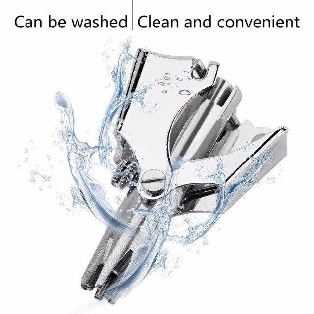 Купить kemei водонепроницаемый ручной триммер для бритья лица уход картинки
