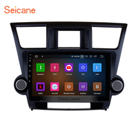 Seicane 10.1 Android 9.0 Car Radio 4G Wifi Bluetooth Multimedia Player For 2009 2010 2011 2012 2013 2014 Toyota Highlander