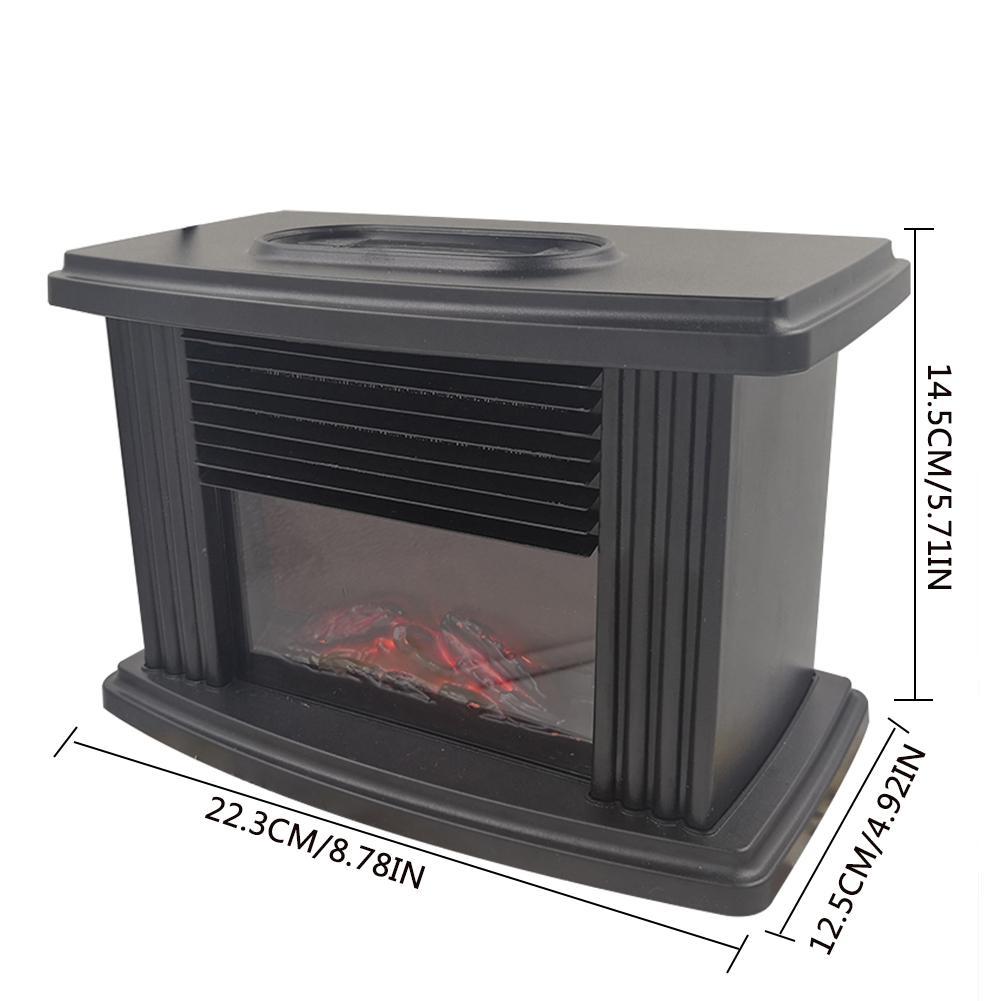 Mais novo fogão elétrico lareira aquecedor portátil