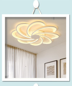 H07540acd62f94e728bd6e0a4234f5788M Surface mounted modern led ceiling lights for living room Bed room light White/Brown plafondlamp home lighting led Ceiling Lamp
