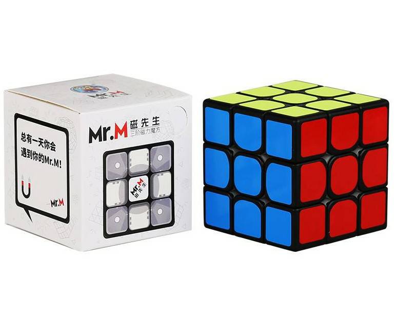 Promo Sengso Mr.M 3x3x3 Magnetic Magic Cube Stickerless Puzzle Professional Shengshou Magnets 3x3 Speed Cubo Mgaico Toys for Kid