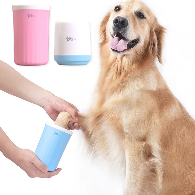 Dog Foot Wash Cup Mug Muddy Paw Clean Tools Washer Puppy Pet Silicone Washing Brush Pet Product For Small Medium Large Dogs Cats