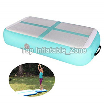 Beautiful Inflatable Gym Mat For Training 1*0.6*0.2m Air Board With Pump Mini Size Air Track Mats DWF Cheerleading AirtracK