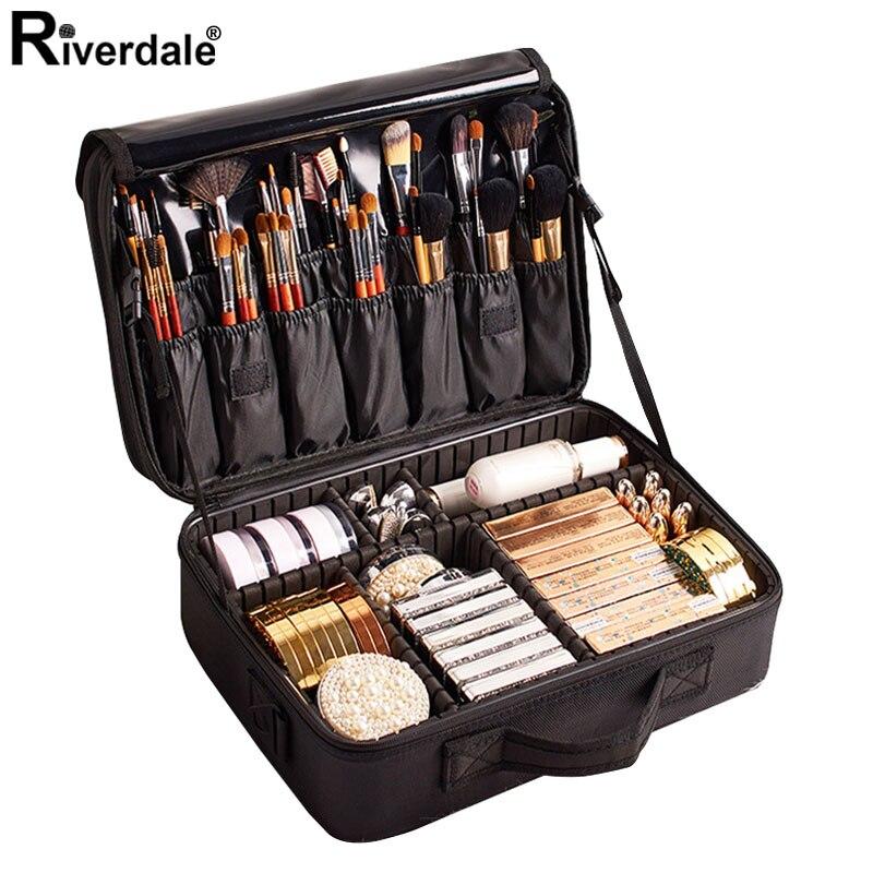 Brand Professional Makeup Case Female 2020 Suitcase Organizer For Cosmetics Large Travel Women Make Up Bag Storage Bolso Muje