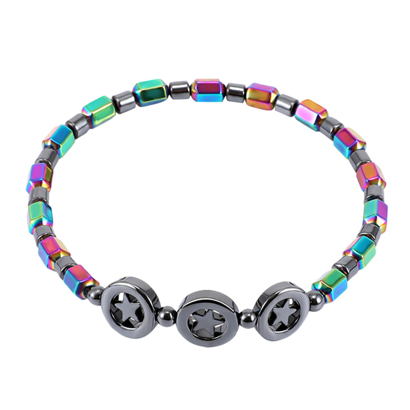 2020 NEW Magnetic Stone Anklets Therapy Weight Loss Slimming Beaded Anklets Women Fashion Jewelry Health Care Ankle Bracelets