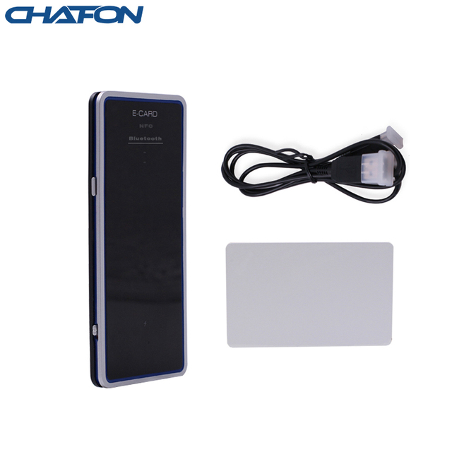 1 meter UHF RFID Bluetooth Reader 50pcs Multiple tag anti collision support android and windows 8 system for access control
