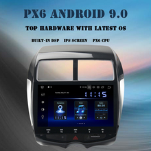 10.2 IPS Android 9.0 car multimedia player for Mitsubishi ASX 2010-2016 radio GPS Navigation 2 din PX6 DSP HDMI 4GB+64GB накладка заднего бампера mitsubishi mz576692ex для mitsubishi asx 2016