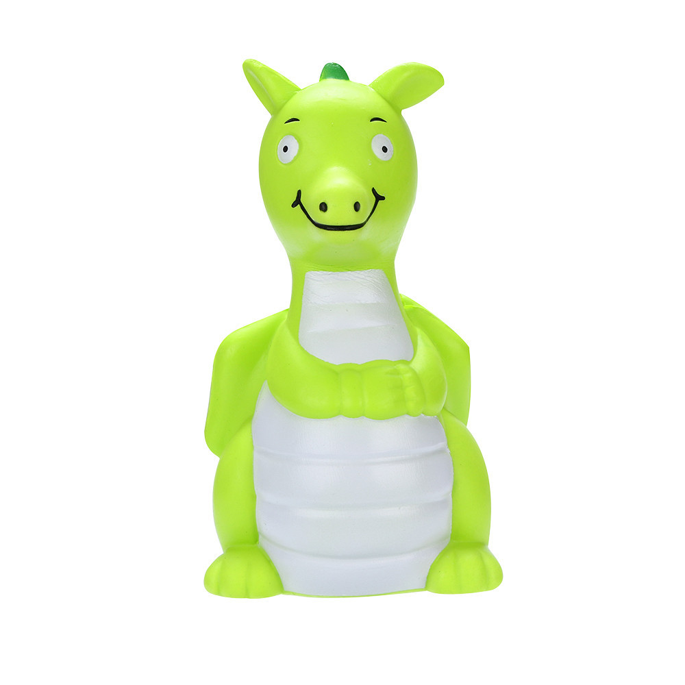 Stress Reliever Cartoon Animal Dinosaur Squeeze Toy Anti-anxiety Decompression Toy Slow Rising Fun Toys For Children #B