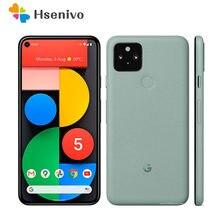 Htc google pixel 5 remodelado-original desbloqueado 4g celular celular 16mp câmera 128gb barato telefone livre shipping1year garantia