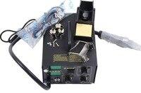 O envio gratuito de Solda Elétrica Irons KADA 852D + Digital Hot Air Welder Estação de Retrabalho SMD SMT Ar Quente & Iron 110V 220V