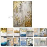 Abstract Oil Painting on Canvas Wall Pictures for Living Room Decor High Quality Pop Art Palette Knife Painting