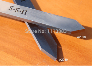Image 5 - A2018 2別れチゼルまたはA2019 Lダイヤモンド別れツールスクレーパーhss woodturningガウジ