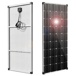 مرنة لوحة طاقة شمسية 150 واط 300 واط 18 فولت 12 فولت 24 فولت شاحن خفيفة الوزن أحادية الخلايا البلورية الشمسية شاحن بطارية ل 12 فولت سيارة قارب RV