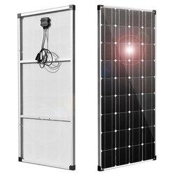Tấm Pin Mặt Trời Linh Hoạt 150 W 300 W 18V 12V 24V Trọng Lượng Nhẹ Đơn Tinh Thể Tế Bào Năng Lượng Mặt Trời pin Sạc Dành Cho Ô Tô 12V Thuyền RV