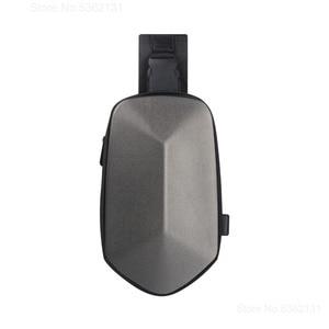 Image 5 - Youpin TAJEZZO polyèdre sac à dos en simili cuir polyuréthane mode sac à bandoulière étanche loisirs sport poitrine Pack sacs pour hommes voyage Camping