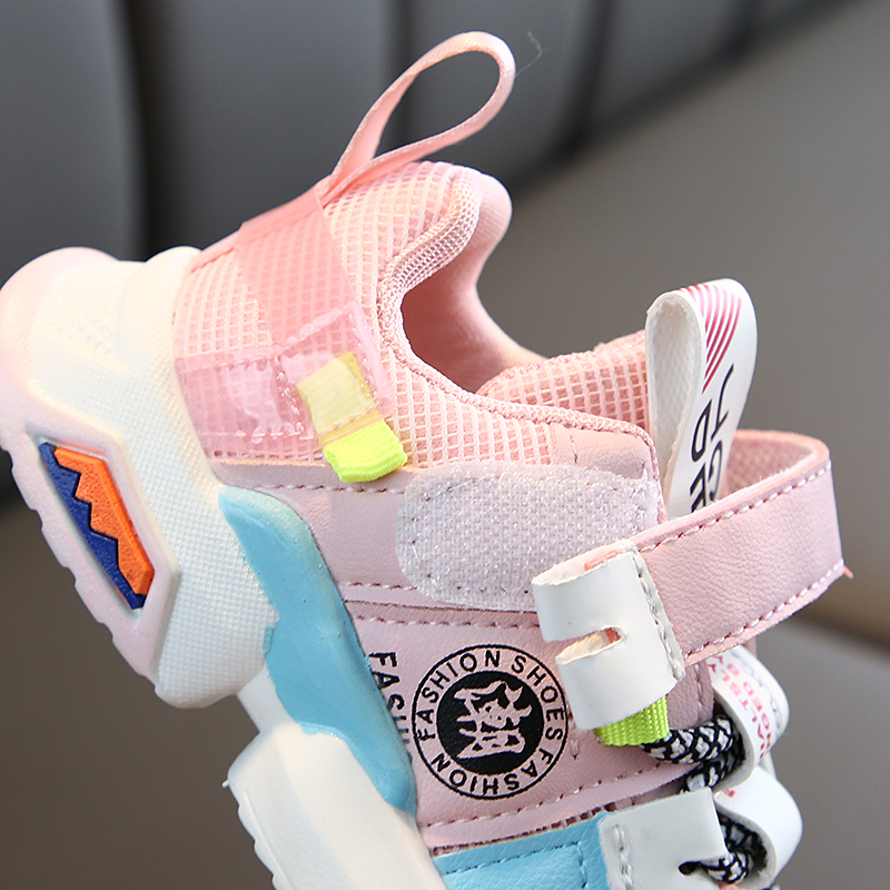 Colorful Breathable Toddler Baby Sneakers 3