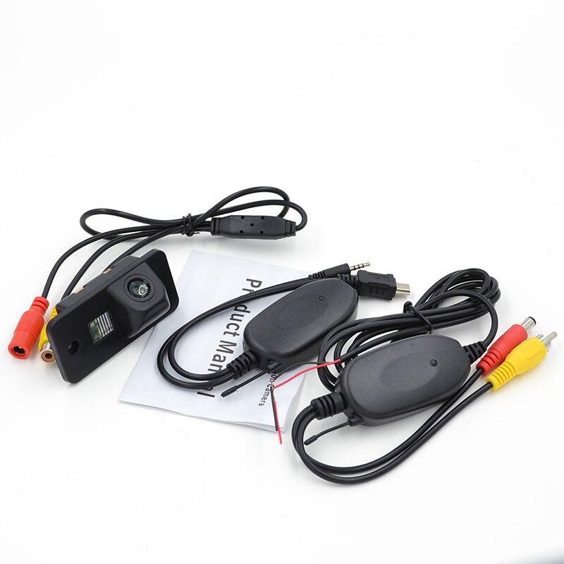 Беспроводная Автомобильная камера заднего вида парковочная камера заднего вида для AUDI A3 A4 A6 A6L A8 Q7 S4 RS4 S5 S6 RS6