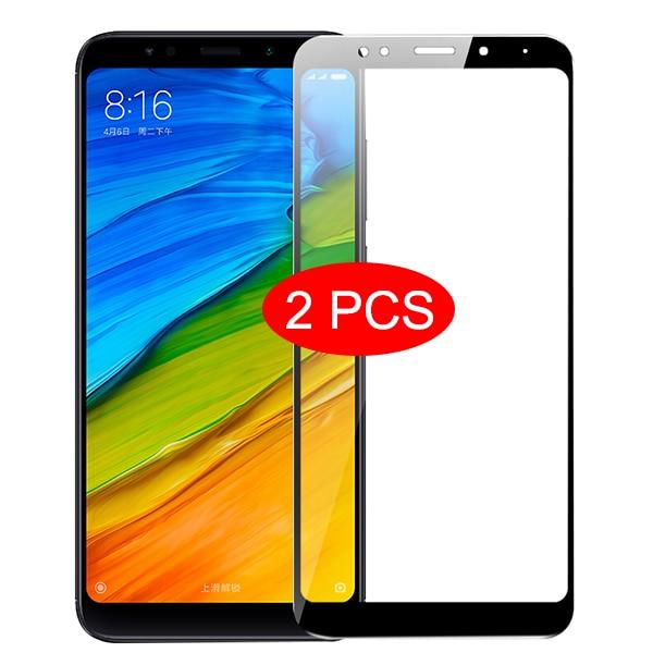 2 шт. закаленное стекло для Xiaomi Redmi 5 plus 6 6A 7 7A 8 8A защита для экрана для xiomi redmi note 5 6 7 8 pro 8T защитная пленка