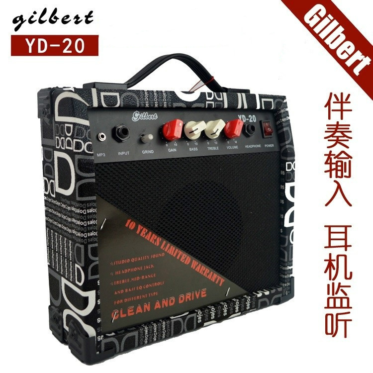 20W Electric Guitar Speaker Package Time Limited Promotion Genuine MP3 Speaker Monitor For Beginners Guitar Accessories