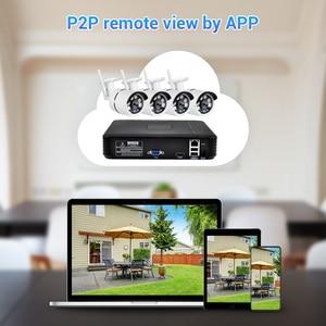 Image 5 - Fuers 4Ch Nvr Video Surveillance System Cctv Camera Systeem Kit 720P IR CUT Outdoor Ip Camera Cctv Wifi Systeem