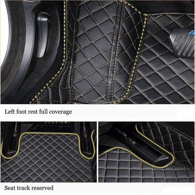 kalaisike Custom car floor mats for Geely all models Emgrand EC7 X7 FE1 car accessories automobiles styling floor mat