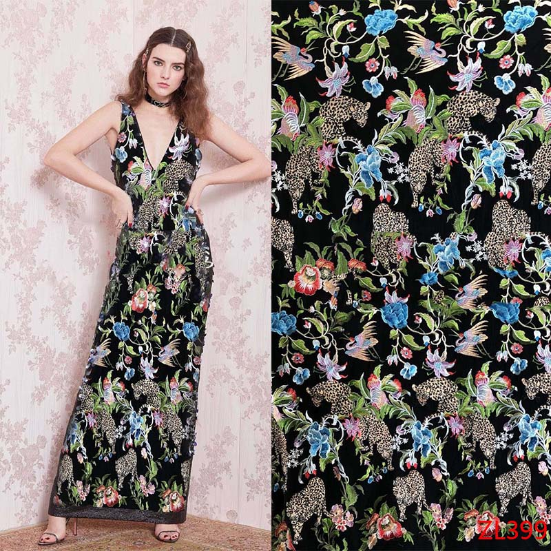latest african nigerian african lace fabric 2018 high quality cotton lace heavy beading handmade 3D flowers