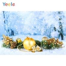 Yeele Christmas Photocall Bokeh Glitters  Balls Ins Photography Backdrops Personalized Photographic Backgrounds For Photo Studio