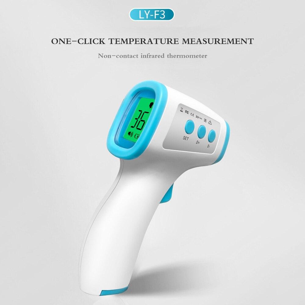 Body Temperature Detector Temperature Gun Non-contact IR Infrared Thermometer Forehead Digital Infrared Thermometer