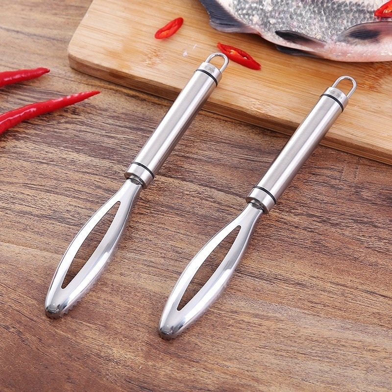 1PC Fish Scales Scraping Graters Kitchen Tools Accessories Fast Remove Fish Cleaning Peeler Scraper Fish Bone Tweezers Stainless|Seafood Tools|   - AliExpress