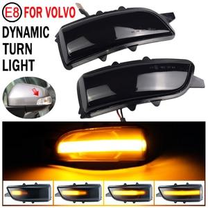 Image 3 - 2pcs Dynamic Blinker For Volvo V40 2013 2016 manual folding inverted mirror LED Turn Signal Mirror Light Flasher Arrow