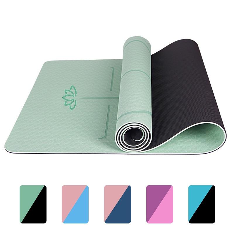 Yoga/Pilates Mat Double Sided