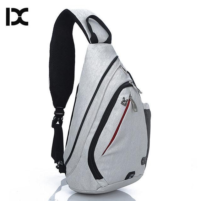 IX Brand Large Capacity Chest Bag Pack Nylon Zipper Women's Messenger Bags Men's School Bag Modern Shoulder Bag Backpack XA260WA 1