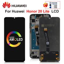 Oryginał dla Huawei Honor 20 lite wyświetlacz LCD ekran dotykowy dla Huawei Honor 20 Lite wyświetlacz części zamienne tanie tanio CN (pochodzenie) Pojemnościowy ekran 3 For Huawei Honor 20 lite LCD LCD i ekran dotykowy Digitizer 2340 X 1080 pixels