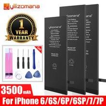 Качественные аккумуляторы yilizomana для iphone 6 6s plus 6plus
