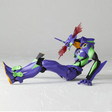 NEW hot 16cm NEON GENESIS EVANGELION EVA light Action figure toys collection doll Christmas gift with box genuine bandai tamashii nations nxedge style no 0037 neon genesis evangelion eva 01 test type [tv ver ] action figure
