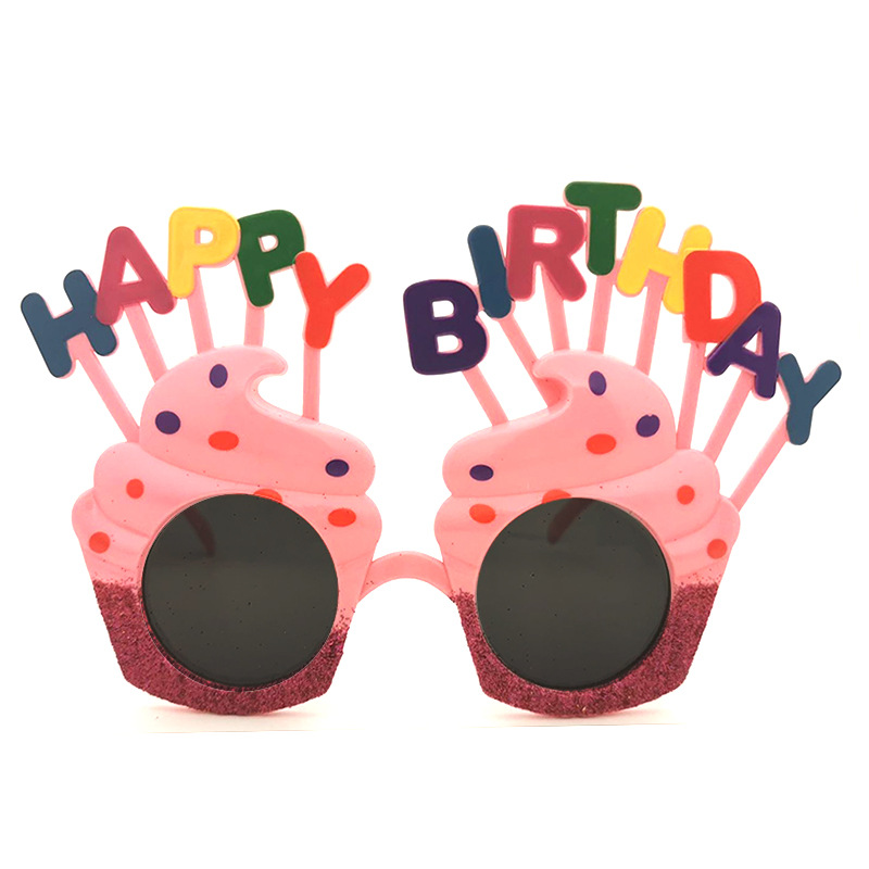 Baby Birthday Party Party Glasses Gift Happy Birhapp Birthday Toy