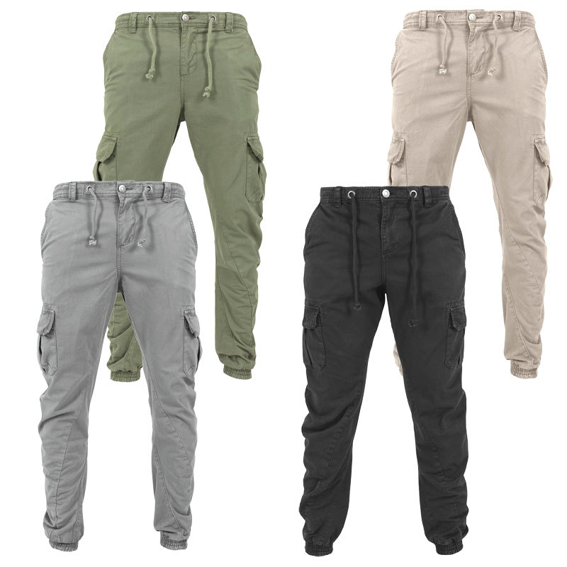 Plus Size Men Casual Pants Sportswear Joggers Trousers Black Fitness Gym Clothing Pockets Leisure Sweatpants