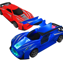 New Arrivals Electric Car 360 Degree Rotating Universal Wheel Vehicle Toys with Light Automatic Hot