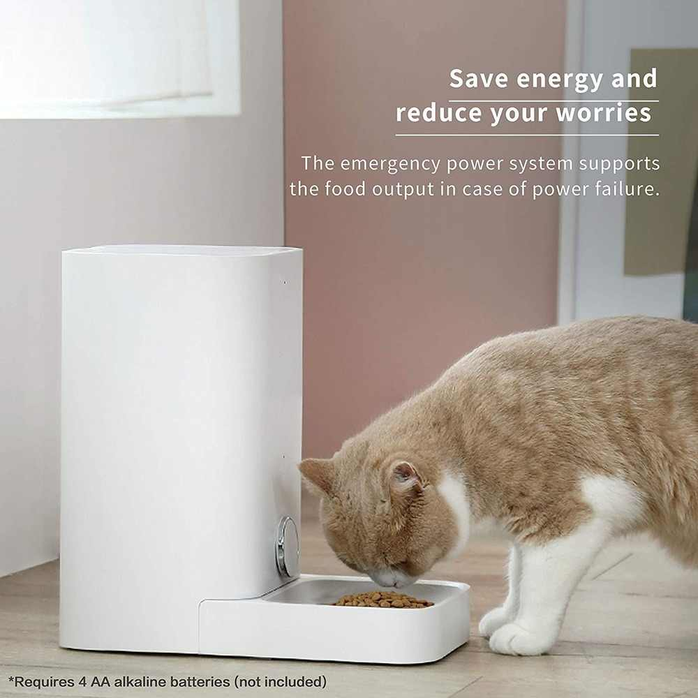 PETKIT 2.8L 스마트 피드 자동 고양이 피더 WiFi 사용 애완 동물 피더 부분 제어 애완 동물 그릇 애완 동물 식품 디스펜서 애완 동물 용품