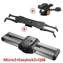 Rail-Slider Camera DSLR for And Mirrorless Lightweight Versatile-Mounting-Options Aluminum-Alloy