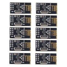 10 шт. Nrf24L01+ 2,4 ГГц беспроводной Радиочастотный приемопередатчик Nrf24L01 беспроводной модуль электронный модуль