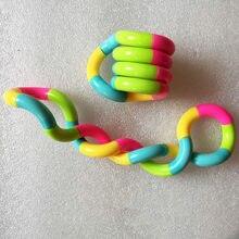 Twisted anel truque mágico corda emaranhado brinquedo fidget criativo diy enrolamento lazer educação alívio do estresse brinquedo de descompressão