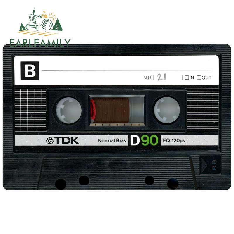EARLFAMILY 13 см для аудио ленты тонкая наклейка Модные автомобильные наклейки виниловый материал окклюзия царапины наклейки для JDM SUV RV|Наклейки на автомобиль|   | АлиЭкспресс