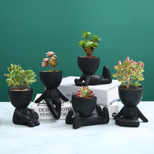 Hand Made Bonsai Modern Nordic Style Ceramic Flower Vase Plants Pots Creative and Simple Desktop Artwork Decoration