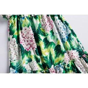 Image 5 - Beenira vestido de verano para chicas, sin mangas, estampado de flores, estilo europeo y americano, Dresses4 14Y, 2020