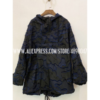 Black Blue Camouflage Sweatshirt Hoodie Fashion high quality Long Sleeve Hoodie Lady Top oversize Loose Leisure Cool hoody