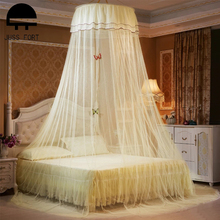 Netting Bed-Canopy Mosquito-Net Curtain-Dome Lace Bedding House Insect Round Elegant
